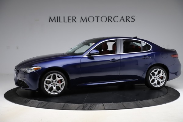 New 2020 Alfa Romeo Giulia Ti Q4 for sale $47,795 at Rolls-Royce Motor Cars Greenwich in Greenwich CT 06830 2