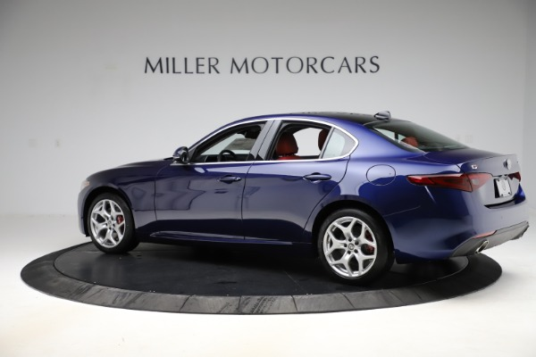 New 2020 Alfa Romeo Giulia Ti Q4 for sale $47,795 at Rolls-Royce Motor Cars Greenwich in Greenwich CT 06830 4