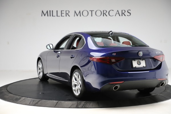 New 2020 Alfa Romeo Giulia Ti Q4 for sale $47,795 at Rolls-Royce Motor Cars Greenwich in Greenwich CT 06830 5