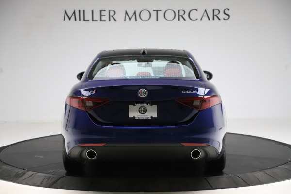 New 2020 Alfa Romeo Giulia Ti Q4 for sale $47,795 at Rolls-Royce Motor Cars Greenwich in Greenwich CT 06830 6