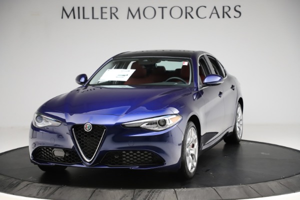 New 2020 Alfa Romeo Giulia Ti Q4 for sale $47,795 at Rolls-Royce Motor Cars Greenwich in Greenwich CT 06830 1