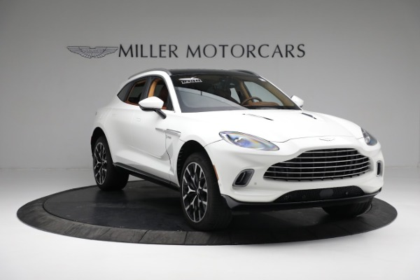 New 2021 Aston Martin DBX for sale $211,636 at Rolls-Royce Motor Cars Greenwich in Greenwich CT 06830 10