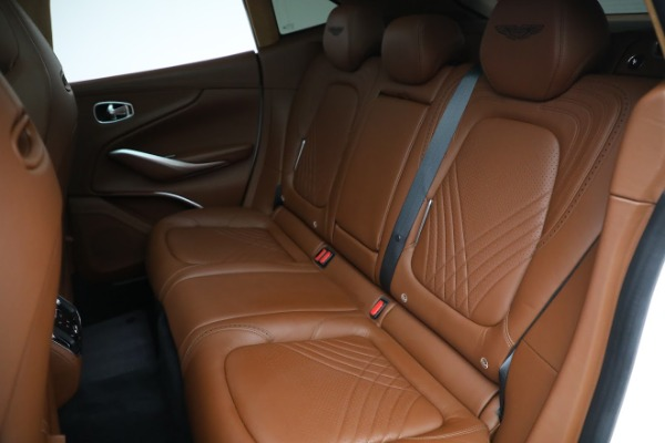 New 2021 Aston Martin DBX for sale $211,636 at Rolls-Royce Motor Cars Greenwich in Greenwich CT 06830 18