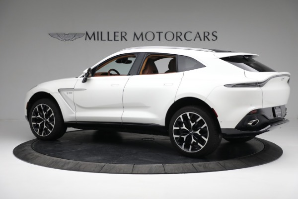 New 2021 Aston Martin DBX for sale $211,636 at Rolls-Royce Motor Cars Greenwich in Greenwich CT 06830 3