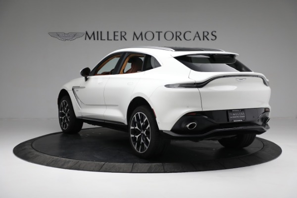 New 2021 Aston Martin DBX for sale $211,636 at Rolls-Royce Motor Cars Greenwich in Greenwich CT 06830 4