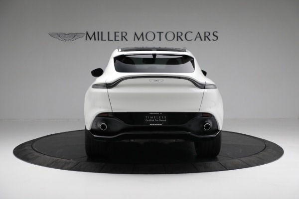 New 2021 Aston Martin DBX for sale $211,636 at Rolls-Royce Motor Cars Greenwich in Greenwich CT 06830 5