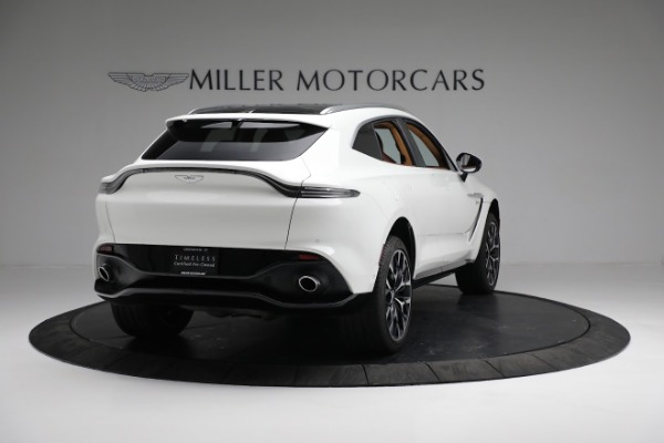 New 2021 Aston Martin DBX for sale $211,636 at Rolls-Royce Motor Cars Greenwich in Greenwich CT 06830 6