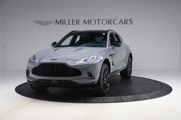 New 2021 Aston Martin DBX SUV for sale $194,486 at Rolls-Royce Motor Cars Greenwich in Greenwich CT 06830 10