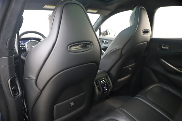 New 2021 Aston Martin DBX SUV for sale $194,486 at Rolls-Royce Motor Cars Greenwich in Greenwich CT 06830 17