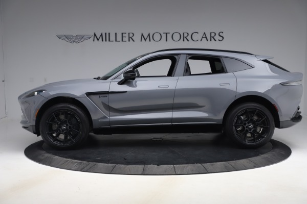 New 2021 Aston Martin DBX SUV for sale $194,486 at Rolls-Royce Motor Cars Greenwich in Greenwich CT 06830 2