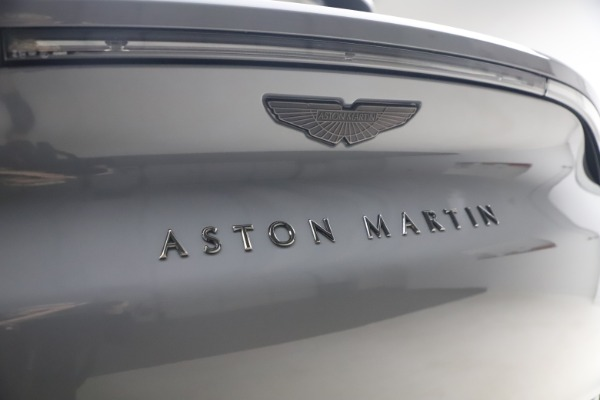 New 2021 Aston Martin DBX SUV for sale $194,486 at Rolls-Royce Motor Cars Greenwich in Greenwich CT 06830 22