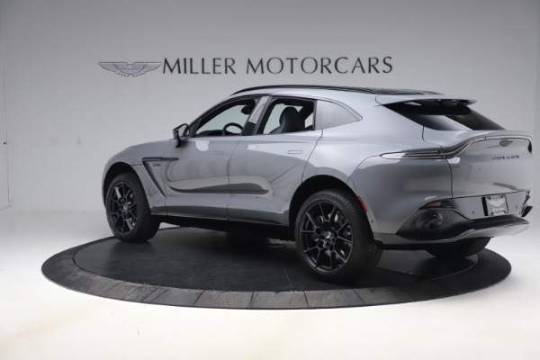 New 2021 Aston Martin DBX SUV for sale $194,486 at Rolls-Royce Motor Cars Greenwich in Greenwich CT 06830 3