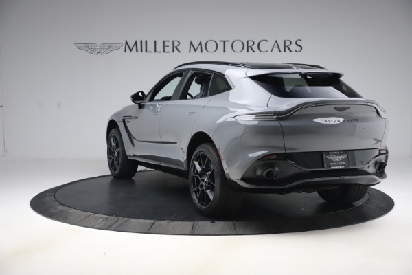 New 2021 Aston Martin DBX SUV for sale $194,486 at Rolls-Royce Motor Cars Greenwich in Greenwich CT 06830 4