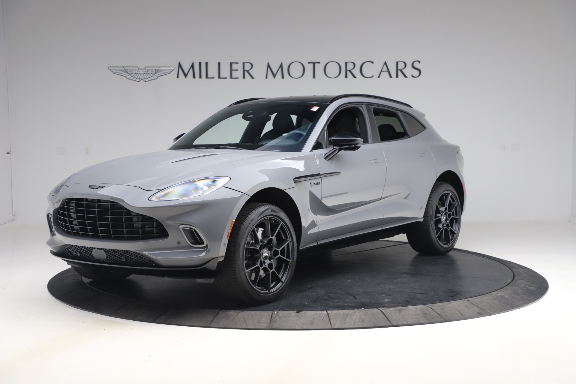 New 2021 Aston Martin DBX for sale $194,486 at Rolls-Royce Motor Cars Greenwich in Greenwich CT 06830 1
