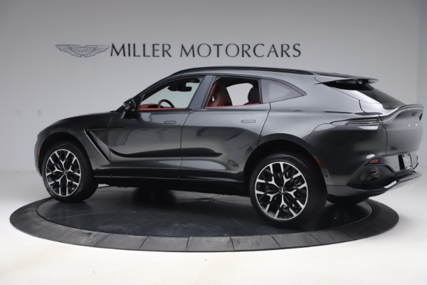 New 2021 Aston Martin DBX for sale $224,886 at Rolls-Royce Motor Cars Greenwich in Greenwich CT 06830 3