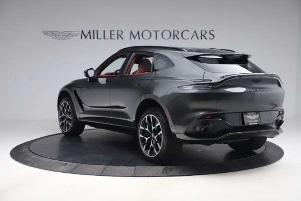 New 2021 Aston Martin DBX for sale $224,886 at Rolls-Royce Motor Cars Greenwich in Greenwich CT 06830 4