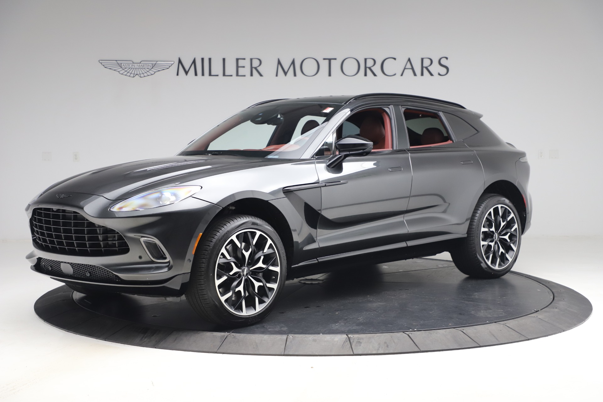 New 2021 Aston Martin DBX for sale $224,886 at Rolls-Royce Motor Cars Greenwich in Greenwich CT 06830 1