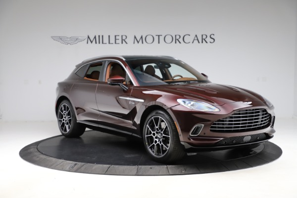 New 2021 Aston Martin DBX for sale $226,836 at Rolls-Royce Motor Cars Greenwich in Greenwich CT 06830 10