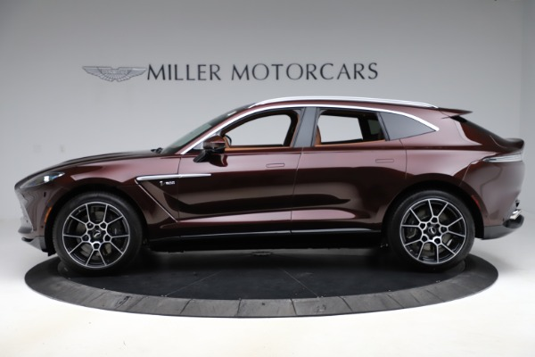 New 2021 Aston Martin DBX for sale $226,836 at Rolls-Royce Motor Cars Greenwich in Greenwich CT 06830 2