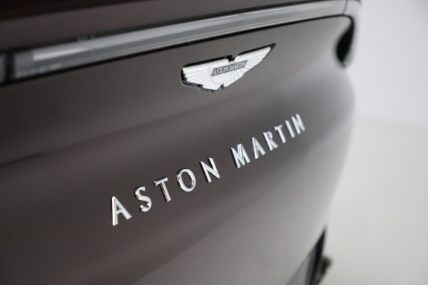 New 2021 Aston Martin DBX for sale $226,836 at Rolls-Royce Motor Cars Greenwich in Greenwich CT 06830 24