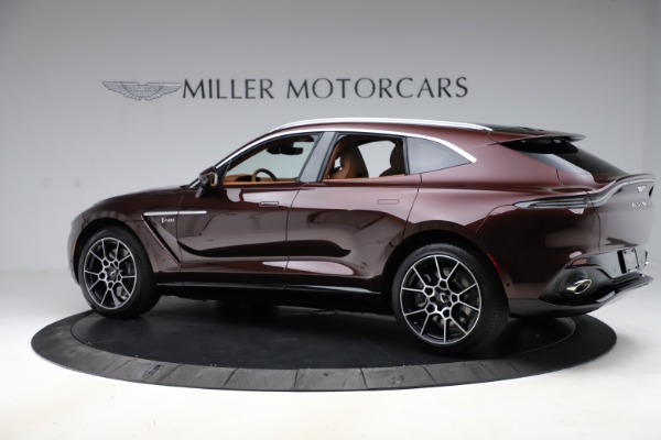 New 2021 Aston Martin DBX for sale $226,836 at Rolls-Royce Motor Cars Greenwich in Greenwich CT 06830 3