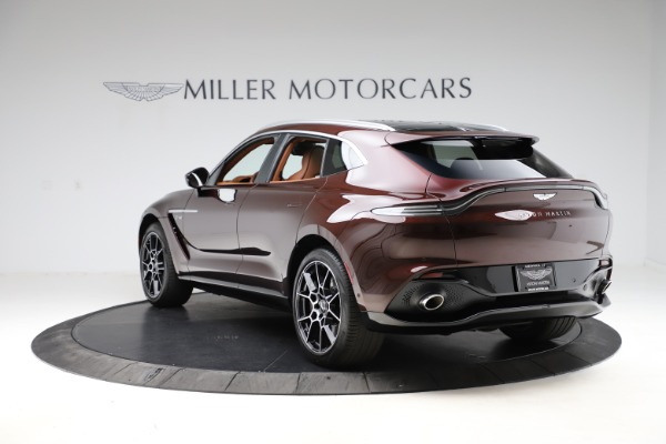 New 2021 Aston Martin DBX for sale $226,836 at Rolls-Royce Motor Cars Greenwich in Greenwich CT 06830 4