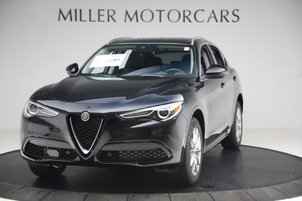 New 2020 Alfa Romeo Stelvio Ti Lusso Q4 for sale $52,695 at Rolls-Royce Motor Cars Greenwich in Greenwich CT 06830 1