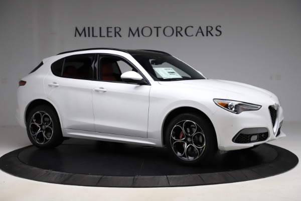 New 2020 Alfa Romeo Stelvio Ti Sport Q4 for sale $57,245 at Rolls-Royce Motor Cars Greenwich in Greenwich CT 06830 10