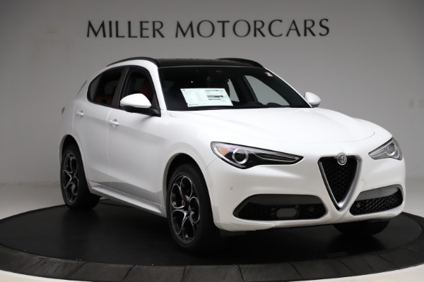 New 2020 Alfa Romeo Stelvio Ti Sport Q4 for sale $57,245 at Rolls-Royce Motor Cars Greenwich in Greenwich CT 06830 11