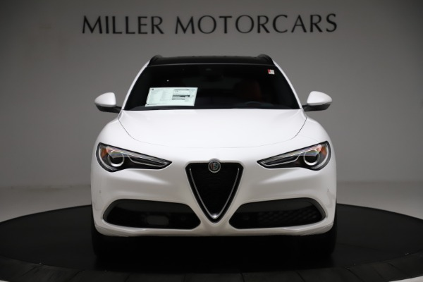 New 2020 Alfa Romeo Stelvio Ti Sport Q4 for sale $57,245 at Rolls-Royce Motor Cars Greenwich in Greenwich CT 06830 12