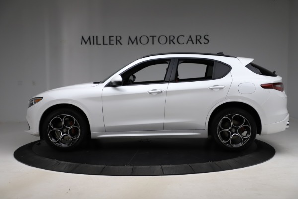 New 2020 Alfa Romeo Stelvio Ti Sport Q4 for sale $57,245 at Rolls-Royce Motor Cars Greenwich in Greenwich CT 06830 3