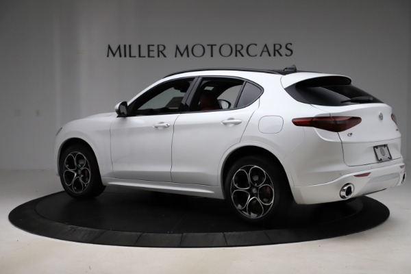 New 2020 Alfa Romeo Stelvio Ti Sport Q4 for sale $57,245 at Rolls-Royce Motor Cars Greenwich in Greenwich CT 06830 4