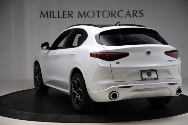 New 2020 Alfa Romeo Stelvio Ti Sport Q4 for sale $57,245 at Rolls-Royce Motor Cars Greenwich in Greenwich CT 06830 5