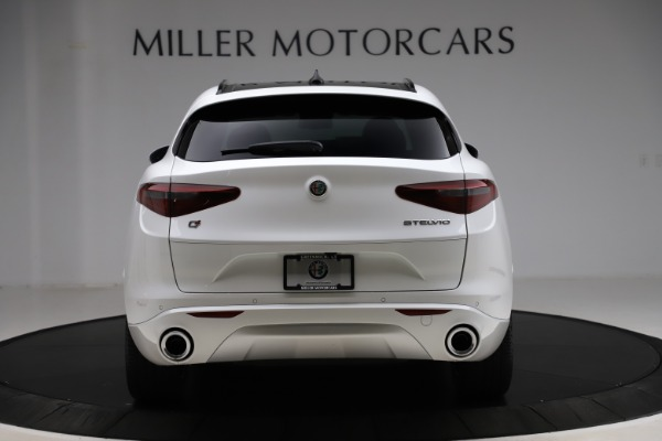 New 2020 Alfa Romeo Stelvio Ti Sport Q4 for sale $57,245 at Rolls-Royce Motor Cars Greenwich in Greenwich CT 06830 6