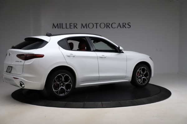 New 2020 Alfa Romeo Stelvio Ti Sport Q4 for sale $57,245 at Rolls-Royce Motor Cars Greenwich in Greenwich CT 06830 8
