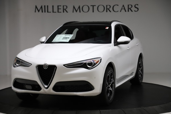 New 2020 Alfa Romeo Stelvio Ti Sport Q4 for sale $57,245 at Rolls-Royce Motor Cars Greenwich in Greenwich CT 06830 1