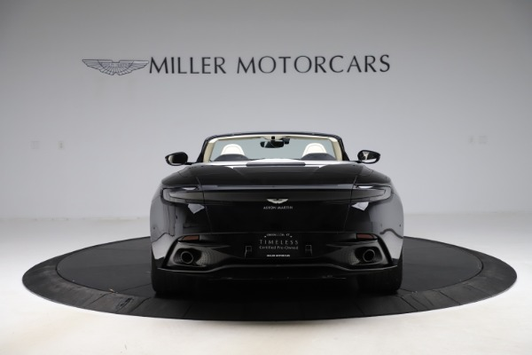 Used 2020 Aston Martin DB11 Volante for sale $209,900 at Rolls-Royce Motor Cars Greenwich in Greenwich CT 06830 5
