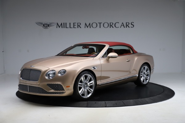 Used 2017 Bentley Continental GTC W12 for sale $165,900 at Rolls-Royce Motor Cars Greenwich in Greenwich CT 06830 11