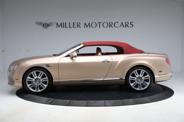 Used 2017 Bentley Continental GTC W12 for sale $165,900 at Rolls-Royce Motor Cars Greenwich in Greenwich CT 06830 12