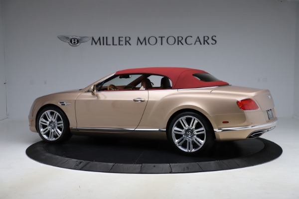Used 2017 Bentley Continental GTC W12 for sale $165,900 at Rolls-Royce Motor Cars Greenwich in Greenwich CT 06830 13