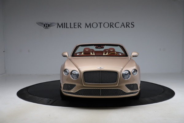 Used 2017 Bentley Continental GTC W12 for sale $165,900 at Rolls-Royce Motor Cars Greenwich in Greenwich CT 06830 22