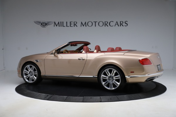 Used 2017 Bentley Continental GTC W12 for sale $165,900 at Rolls-Royce Motor Cars Greenwich in Greenwich CT 06830 4