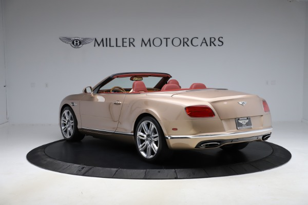 Used 2017 Bentley Continental GTC W12 for sale $165,900 at Rolls-Royce Motor Cars Greenwich in Greenwich CT 06830 5
