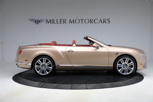 Used 2017 Bentley Continental GTC W12 for sale $165,900 at Rolls-Royce Motor Cars Greenwich in Greenwich CT 06830 9