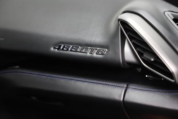 Used 2017 Ferrari 488 GTB for sale Sold at Rolls-Royce Motor Cars Greenwich in Greenwich CT 06830 22