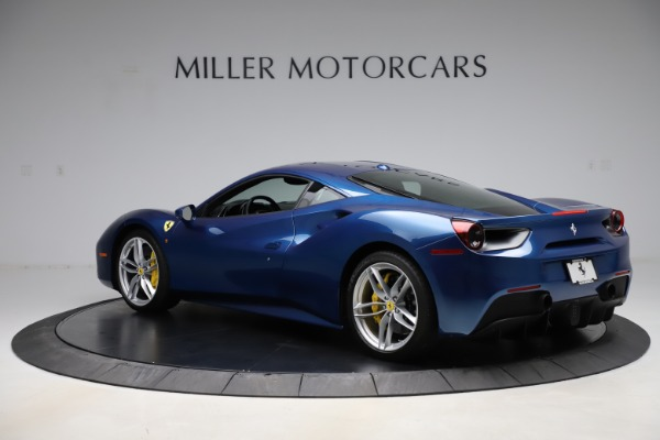 Used 2017 Ferrari 488 GTB for sale Sold at Rolls-Royce Motor Cars Greenwich in Greenwich CT 06830 4