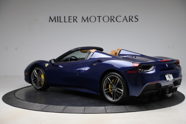 Used 2018 Ferrari 488 Spider for sale Sold at Rolls-Royce Motor Cars Greenwich in Greenwich CT 06830 4