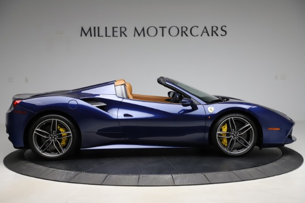Used 2018 Ferrari 488 Spider for sale Sold at Rolls-Royce Motor Cars Greenwich in Greenwich CT 06830 9