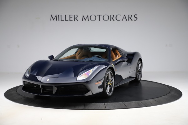 Used 2018 Ferrari 488 Spider for sale Call for price at Rolls-Royce Motor Cars Greenwich in Greenwich CT 06830 13