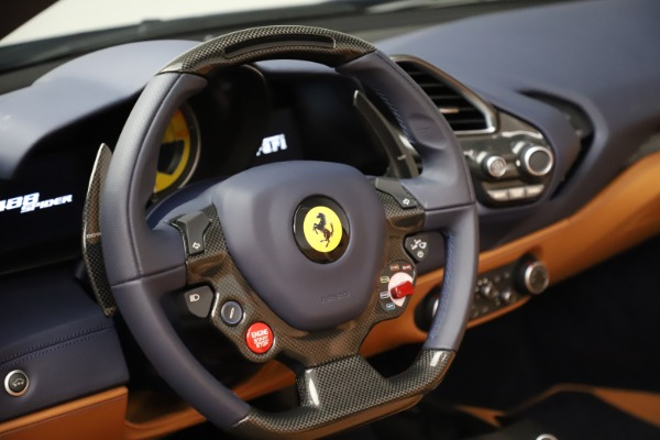 Used 2018 Ferrari 488 Spider for sale Call for price at Rolls-Royce Motor Cars Greenwich in Greenwich CT 06830 26